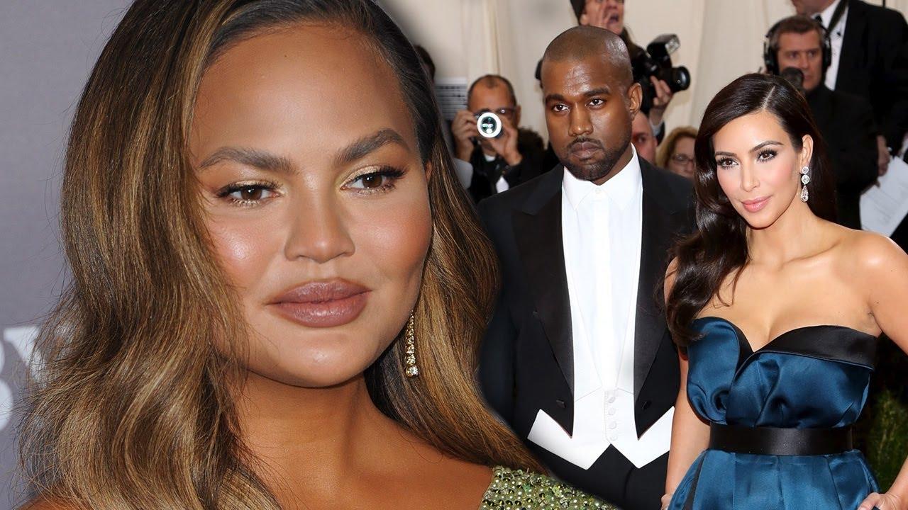 Chrissy Teigen Reacts To Kim Kardashian Divorce