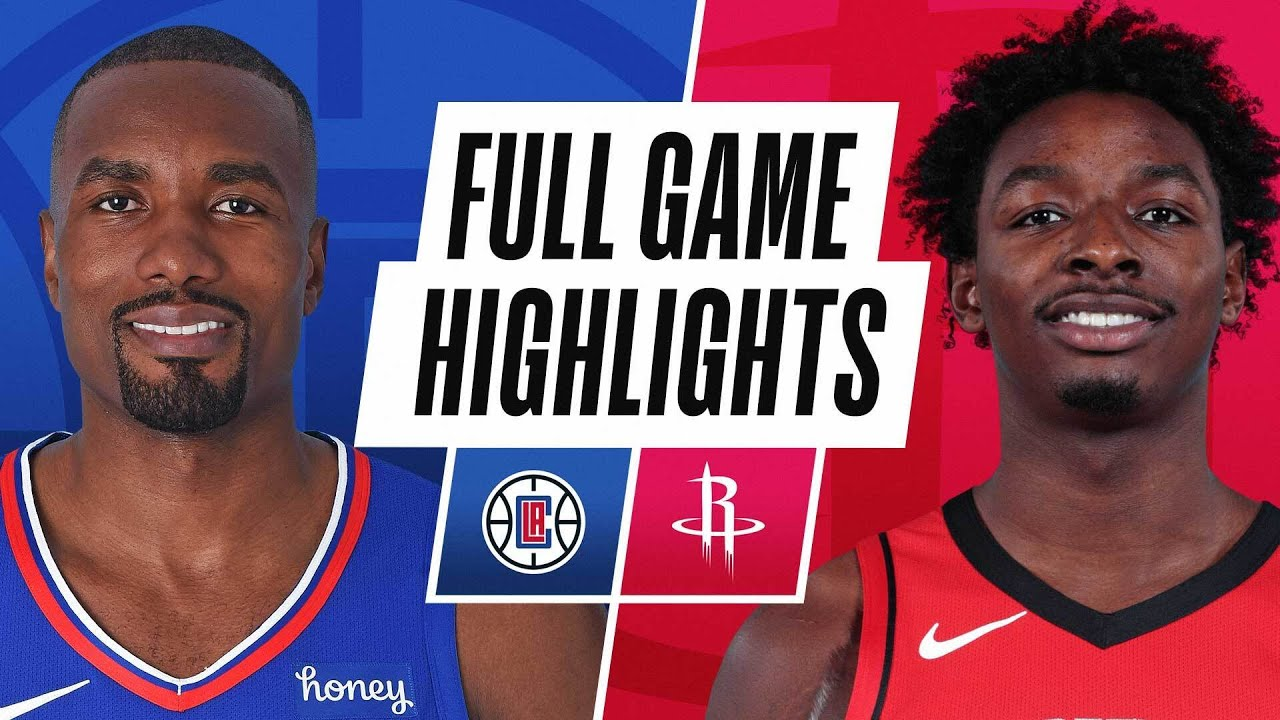CLIPPERS at ROCKETS | FULL GAME HIGHLIGHTS | May 14, 2021