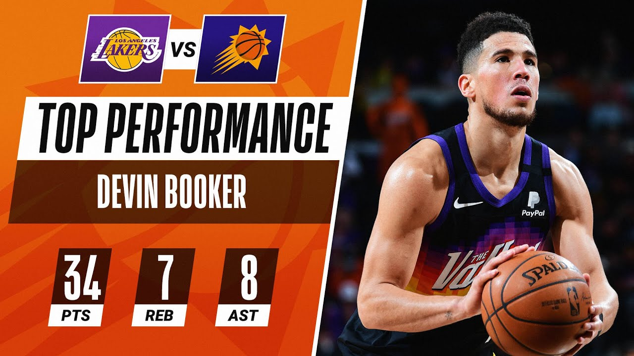 D-Book Shows Out In #NBAPlayoffs Debut ☀