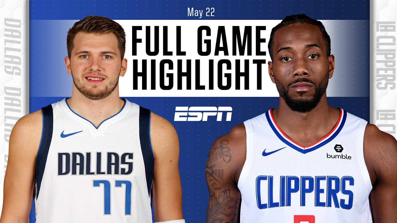 Dallas Mavericks at Los Angeles Clippers | Full Game Highlights