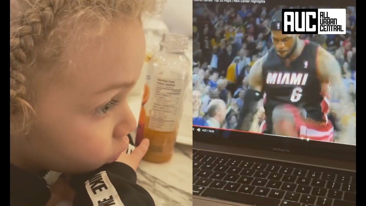 Drake Shows His Son Lebron James Highlights Training Him For The NBA Early