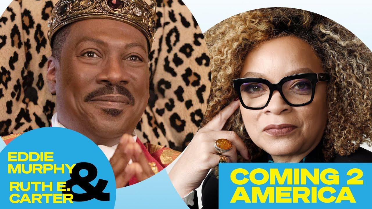 Eddie Murphy and 'Coming 2 America' Costume Designer Ruth Carter on Crafting the Look of Zamunda