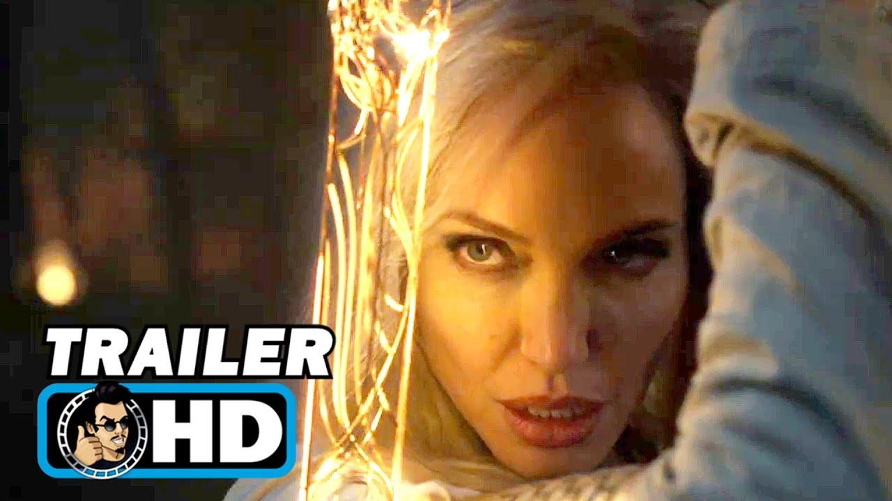 ETERNALS Teaser Trailer   NEW (2021) Marvel Superhero Movie HD