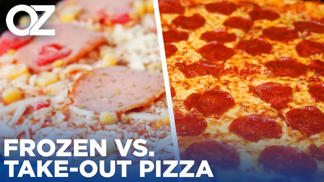 Frozen vs. Take-Out Pizza - Which Will Win Dr. Oz's Ultimate Food Showdown?