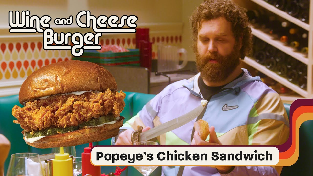 Harley Morenstein & Lara Amersey Find Out If Popeyes Pairs Better With Chardonnay or Champagne