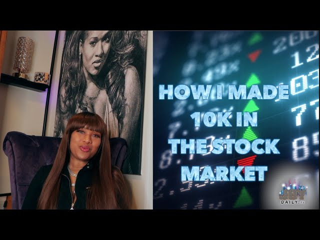 How I Made 10k from the Stock Market