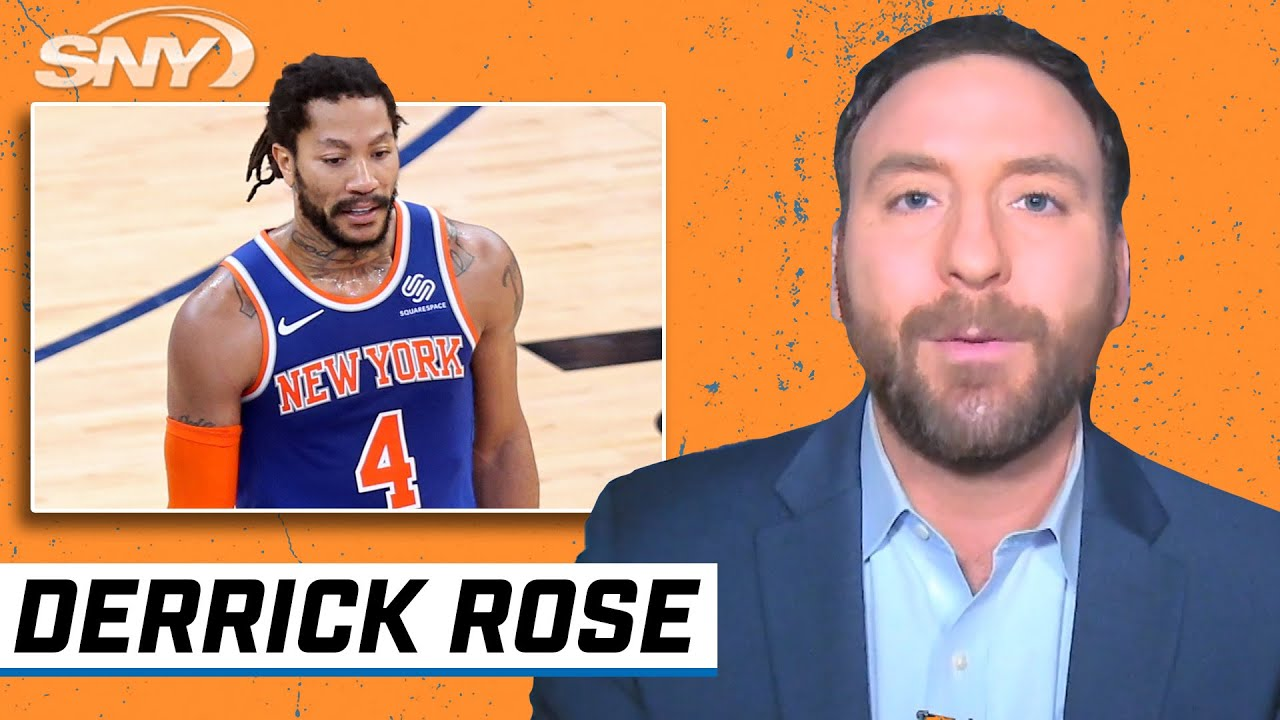 Ian Begley on the critical impact Derrick Rose has had since joining the Knicks | Knicks | SNY