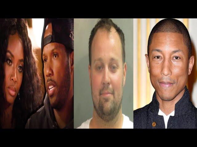 Josh Duggar Arrested~Pharrell Williams Slams Record Labels~Mendeecees tells Yandy the TRUTH!