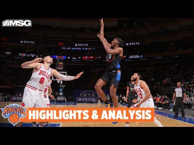 Knicks Bounce Back In 113-94 Win vs. Bulls | New York Knicks