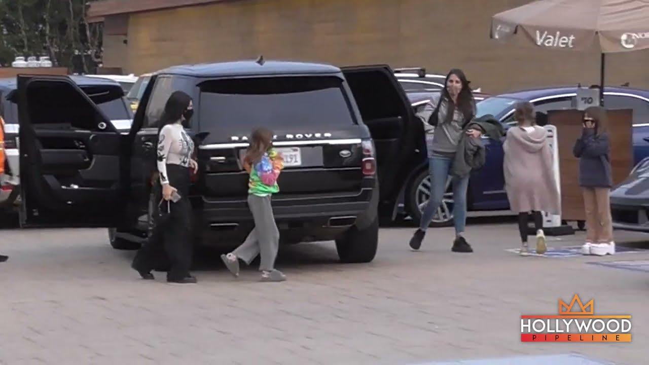 Kourtney Kardashian takes daughter Penelope to Nobu Malibu