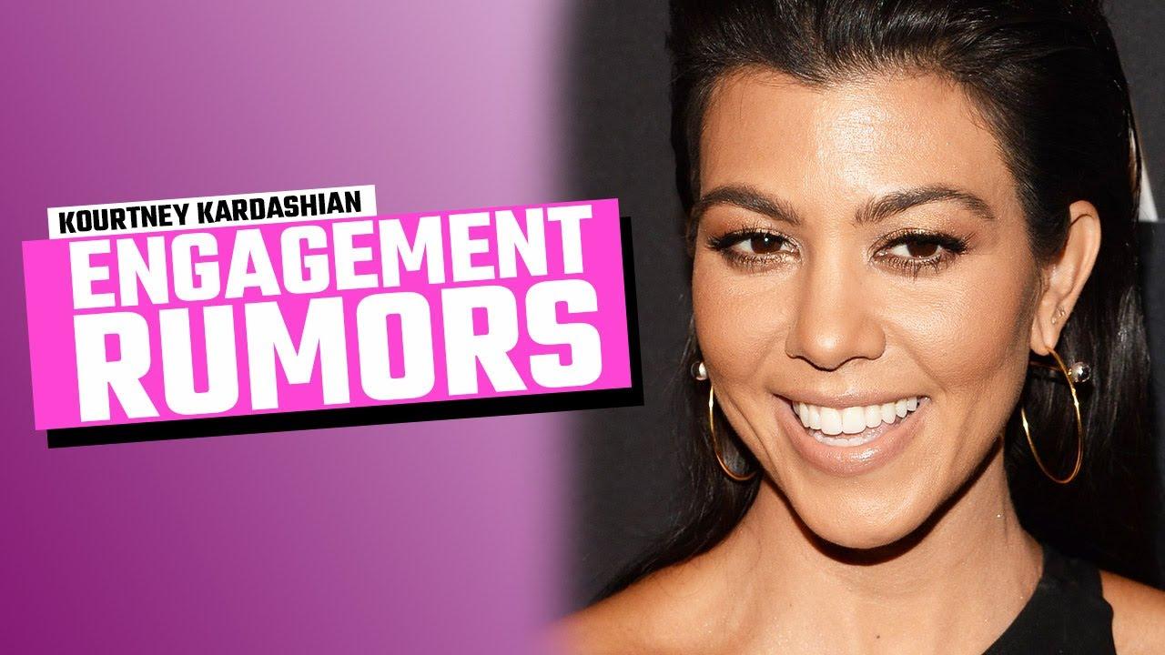 Kourtney Kardashian & Travis Barker Spark Engagement Rumors