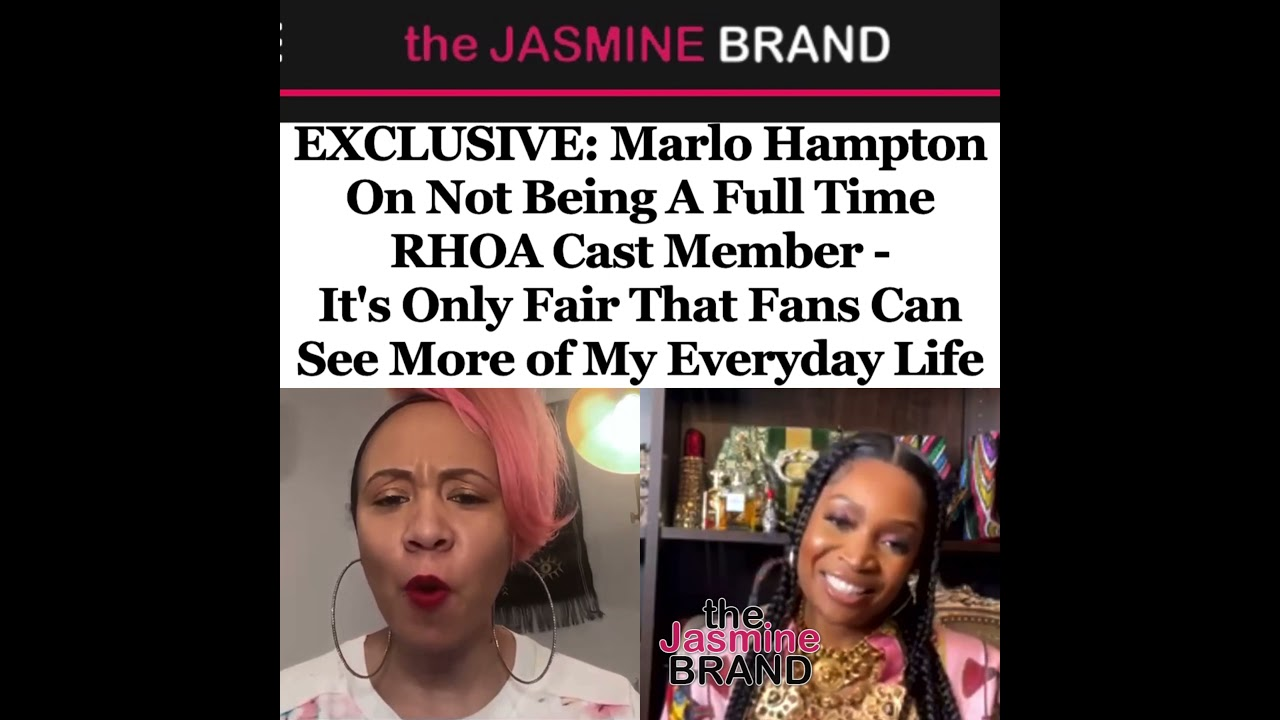 Marlo Hampton On Not Being A Full Time RHOA Cast Member