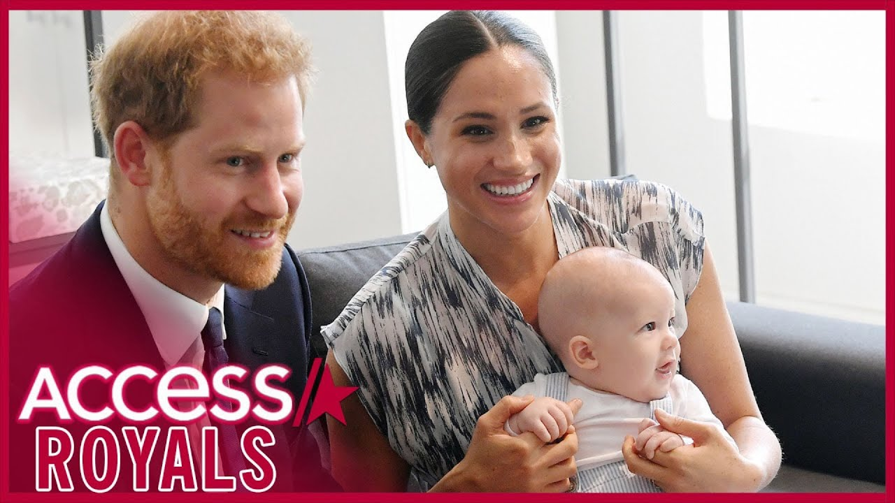 Meghan Markle & Prince Harry Don't Want Archie To Feel Weight Of Royalty