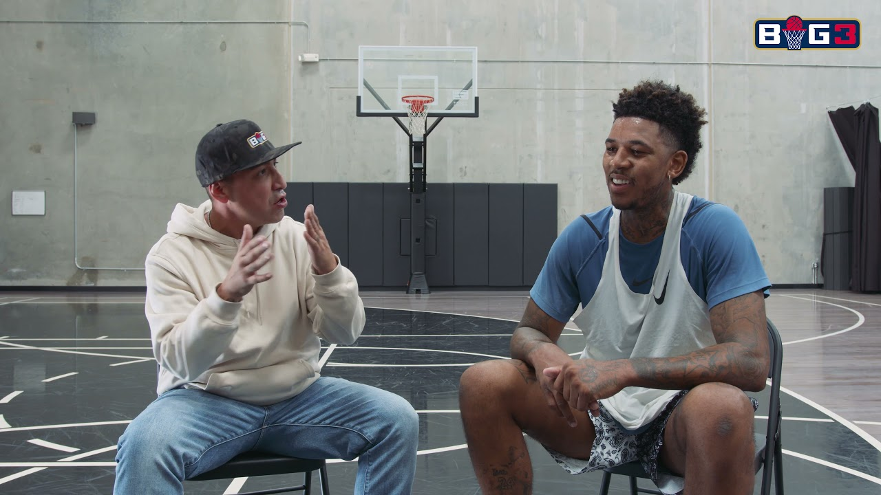 """Nick """"Swaggy P"""" Young talks joining BIG3 on ALL ABOUT THE BIG3"""