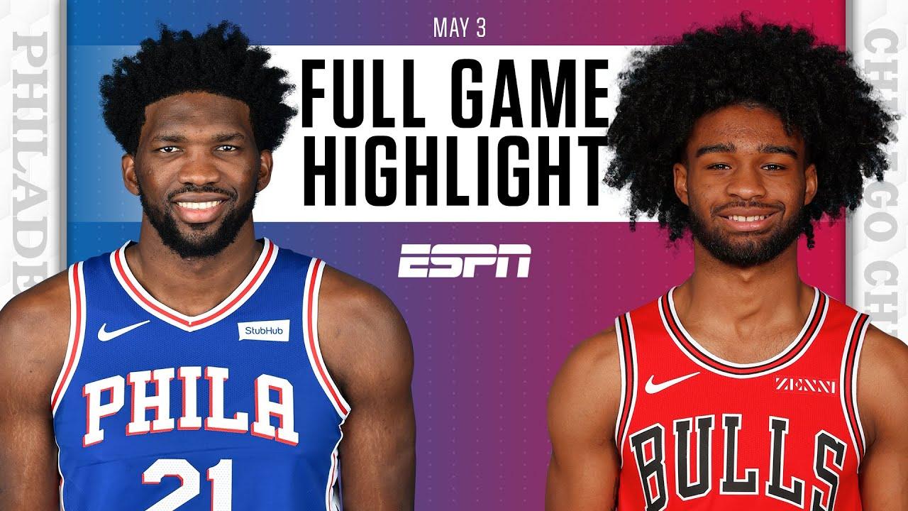 Philadelphia 76ers at Chicago Bulls   Full Game Highlights