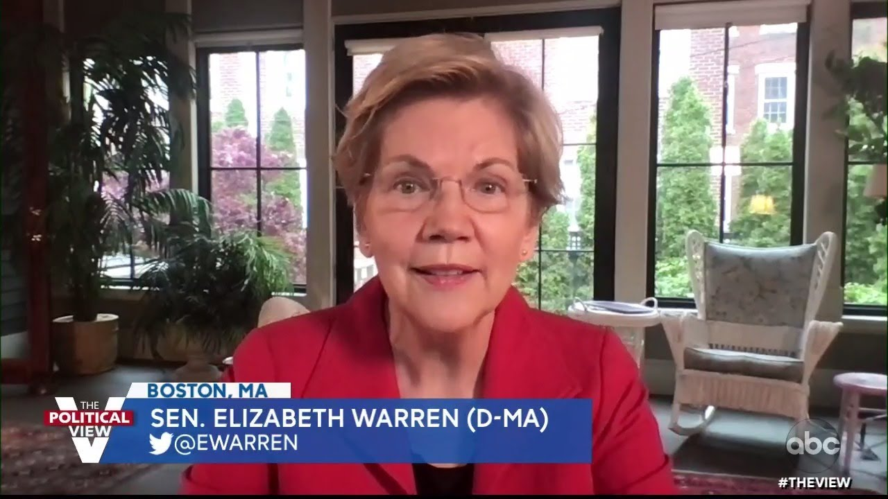 """Sen. Elizabeth Warren on How 2020 Presidential Primary Loss Inspired Book """"Persist""""   The View"""