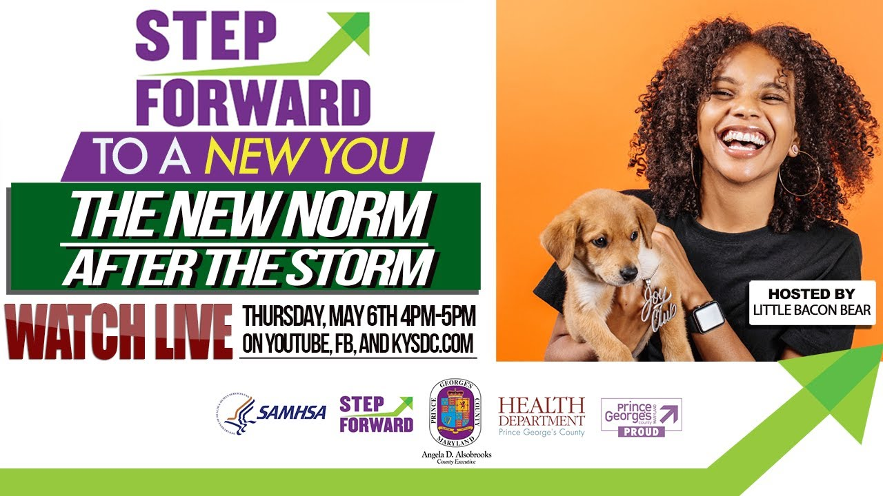 Step Forward to a New You: The New Norm After the Storm w/ Little Bacon Bear!