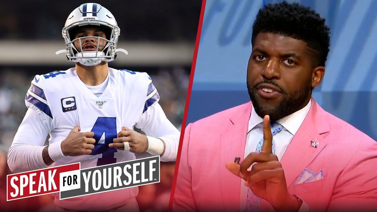 There's an abundance of pressure on Dak Prescott — Acho | NFL | SPEAK FOR YOURSELF