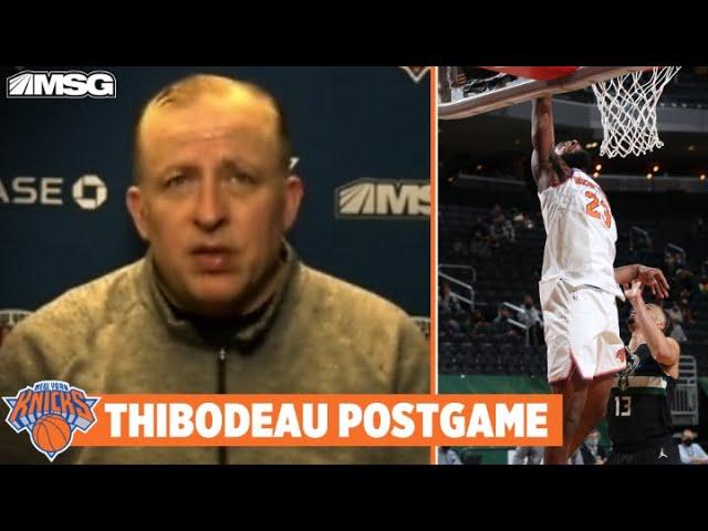 Thibs Provides Injury Updates on Mitchell Robinson | New York Knicks