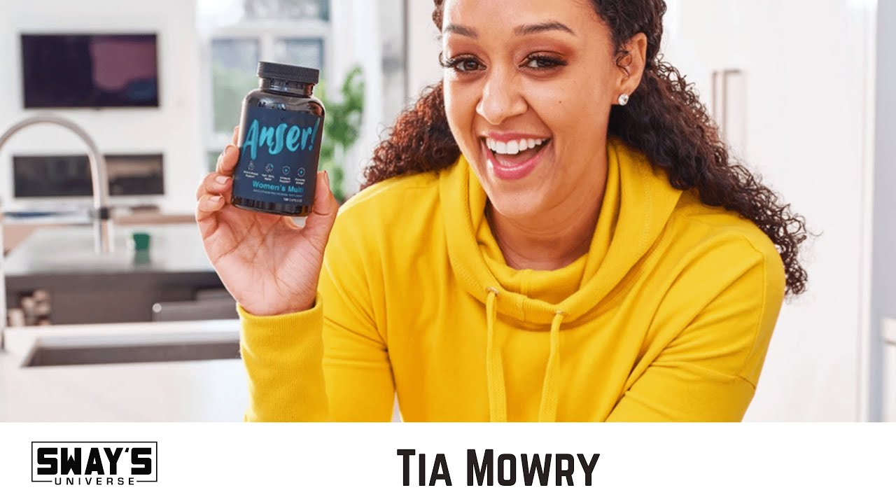 Tia Mowry Getting into The Wellness Industry Multivitamin Company, Anser | SWAY'S UNIVERSE