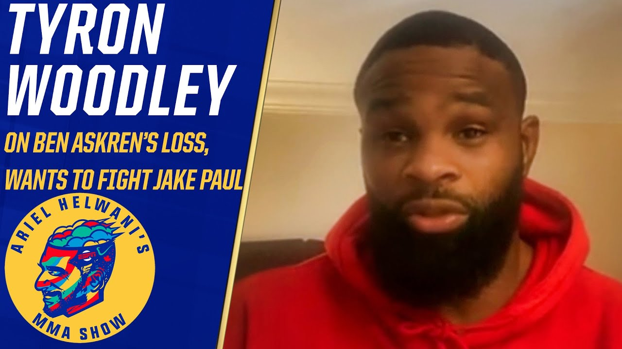 Tyron Woodley challenges Jake Paul to a fight, doesn't think he'll accept | Ariel Helwani's MMA Show