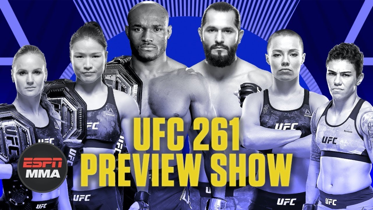 UFC 261 Preview Show | Ariel & The Bad Guy Live | ESPN MMA