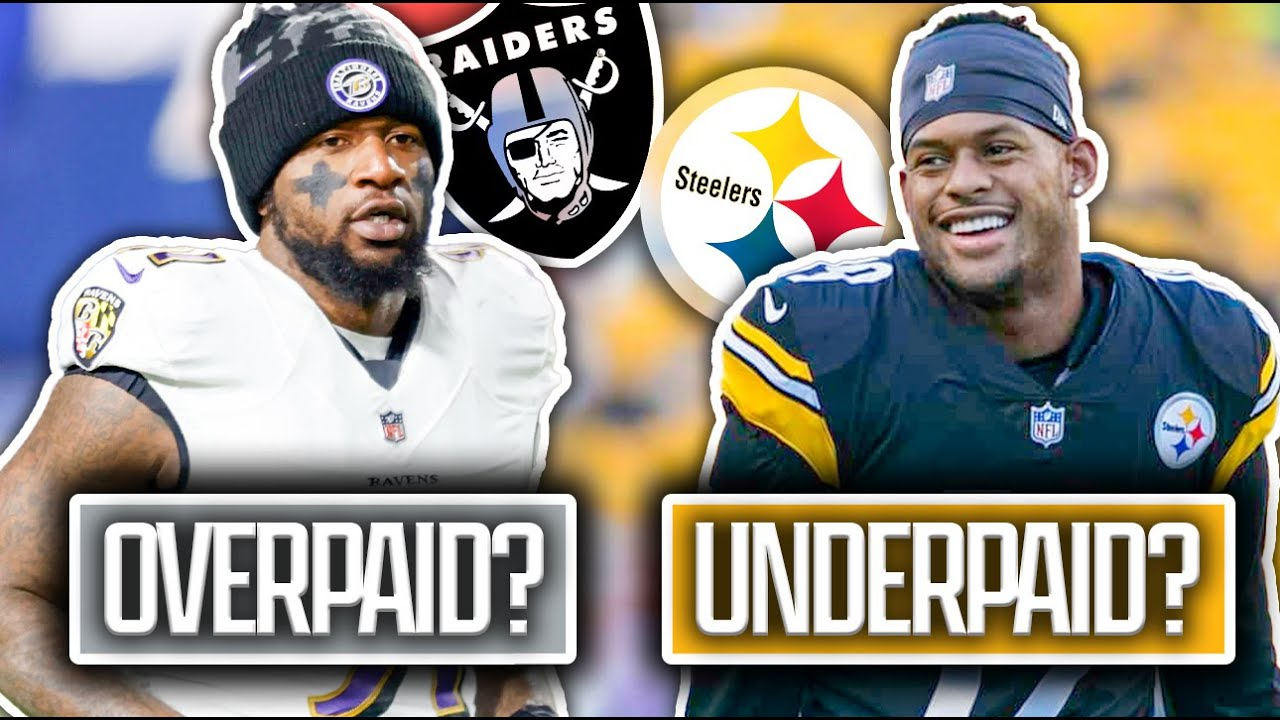 5 NFL Free Agents In 2021 that were Paid WAY TOO MUCH... and 5 that Should Have Gotten MUCH MORE!