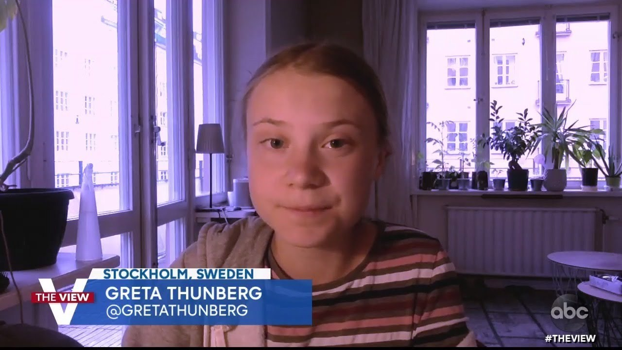 """Greta Thunberg Discusses Short Film """"#ForNature"""" and How to Start Making Green Choices   The View"""
