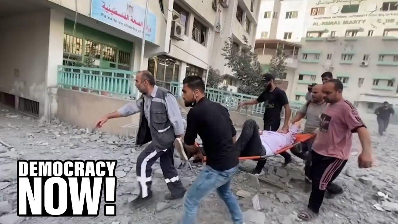 Israeli Human Rights Group B'Tselem: Israel Is Committing War Crimes by Killing Civilians in Gaza