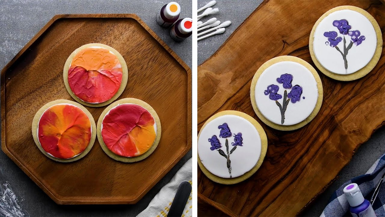 It's Okay to be a Rookie When You Paint These Cookies! DIY Cookie Art Ideas! So Yummy