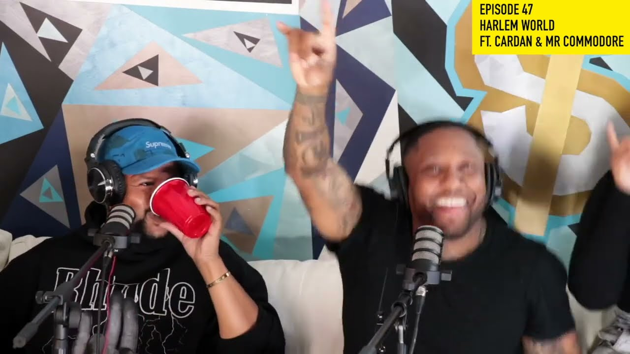 KITCHEN TALK - EP47 RAPPER CARDAN OF HARLEM WORLD TALKS MASE, NELLY AND MR COMMODORE CRASHES THE SET