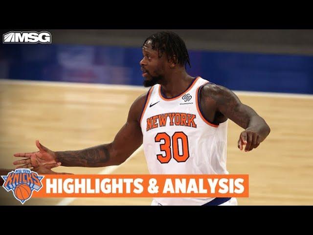 Knicks Take Down Hornets 118-109 In OT   New York Knicks