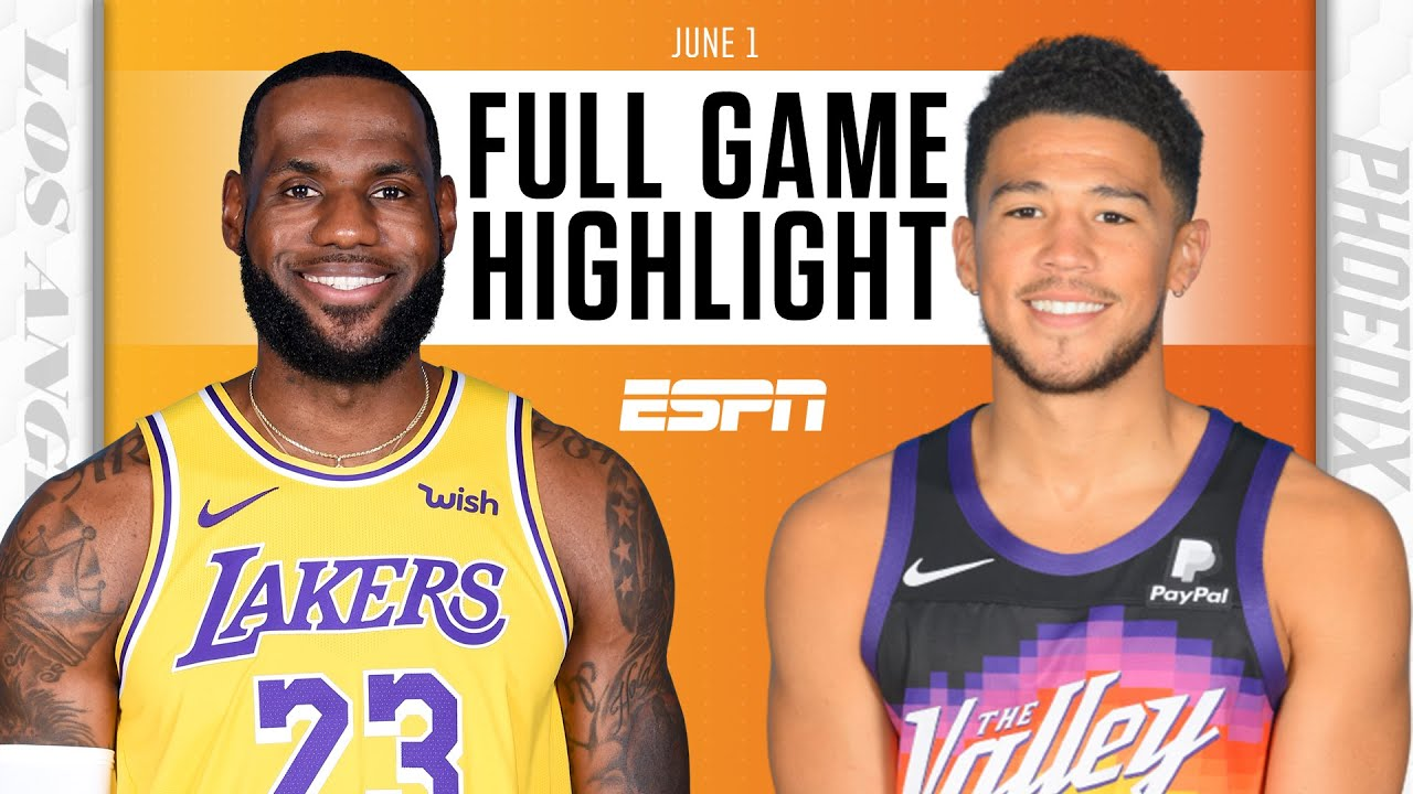 Los Angeles Lakers at Phoenix Suns   Full Game Highlights