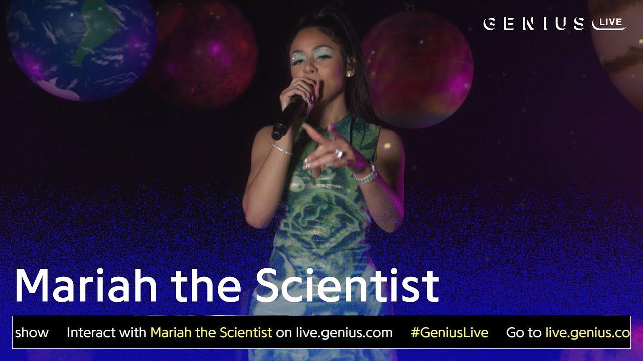 """Mariah the Scientist """"Beetlejuice"""" (Live Performance)   Genius Live"""