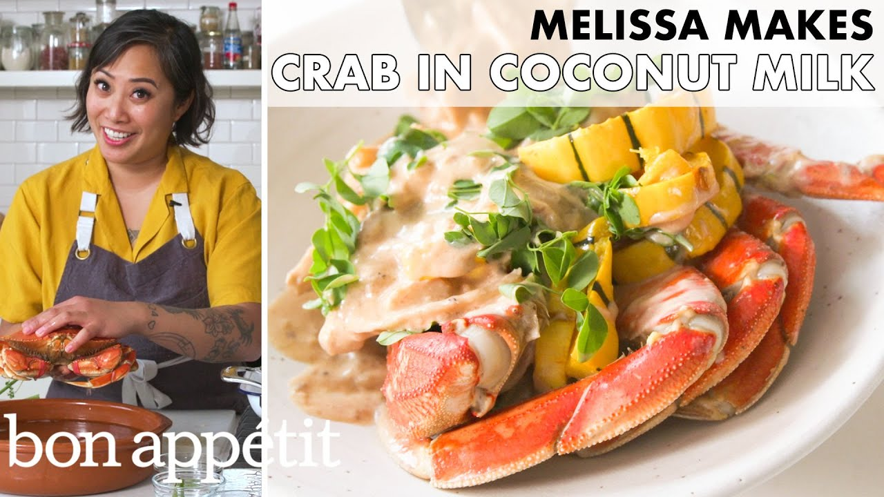 Melissa Makes Crab in Coconut Milk (Ginataang Alimasag) | From the Home Kitchen | Bon Appétit