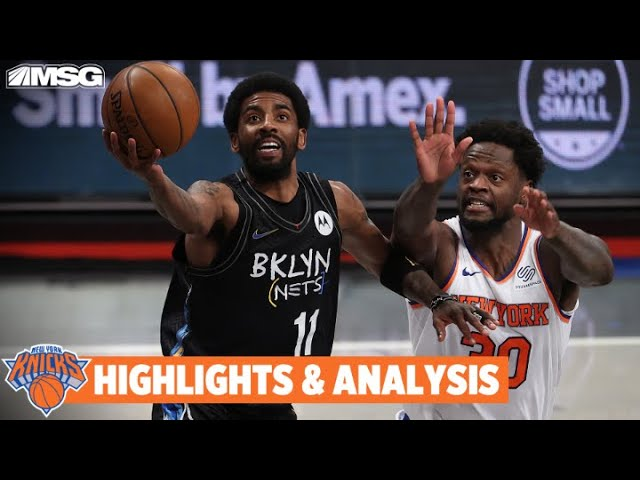 Randle Drops Triple-Double, But Can't Stop Nets Behind Irving's 40 | New York Knicks
