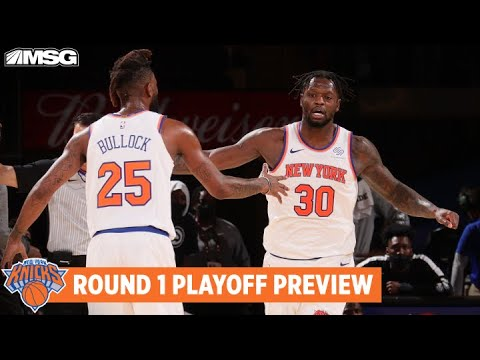 Round 1 Playoff Preview: Who Is Knicks X-Factor vs Hawks?   New York Knicks