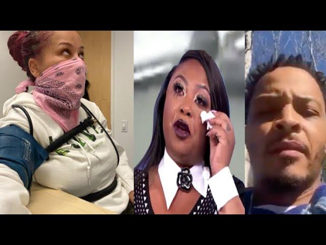 T.I. & Tiny deny Sabrina's allegations+ Shekinah Jo breaks down crying & backtracks #fullbreakdown