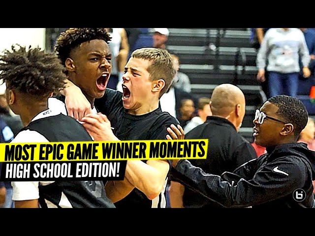 The Most Epic Game Winners EVER Moments! High School Edition!