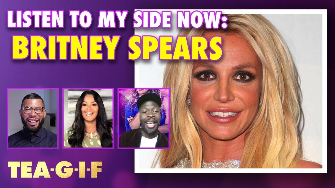 Britney Spears' Tell All   Tea-G-I-F
