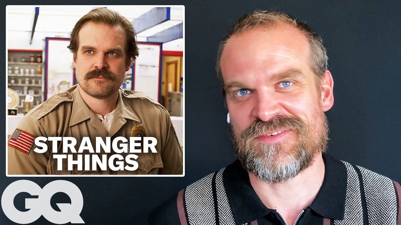 David Harbour Breaks Down His Most Iconic Characters | GQ