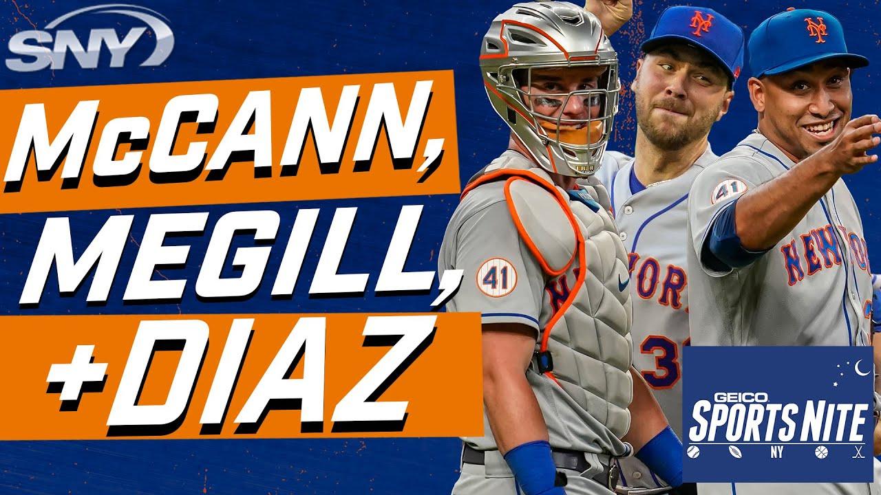 James McCann's big HR, Tylor Megill's elite arsenal, Edwin Diaz attacking hitters | SportsNite | SNY