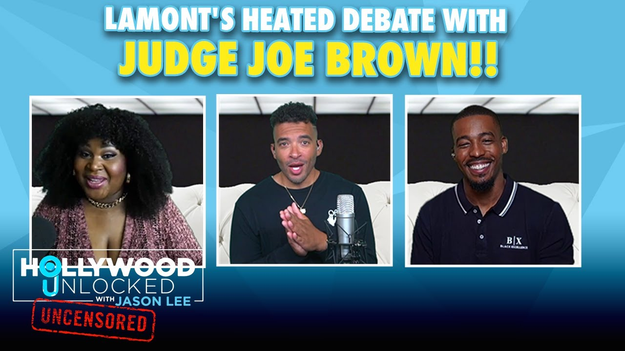 Marc Lamont Hill In Debate With Judge Joe Brown On Bill Cosby   Hollywood Unlocked UNCENSORED