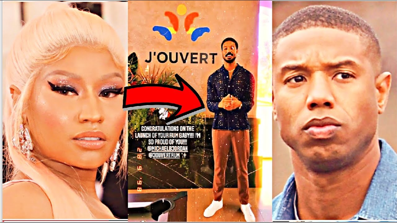 Michael B Jordan Get Grilled by Nicki Minaj Over J'Ouvert Cultural Appropriation...GUESS WHO'S MAD?