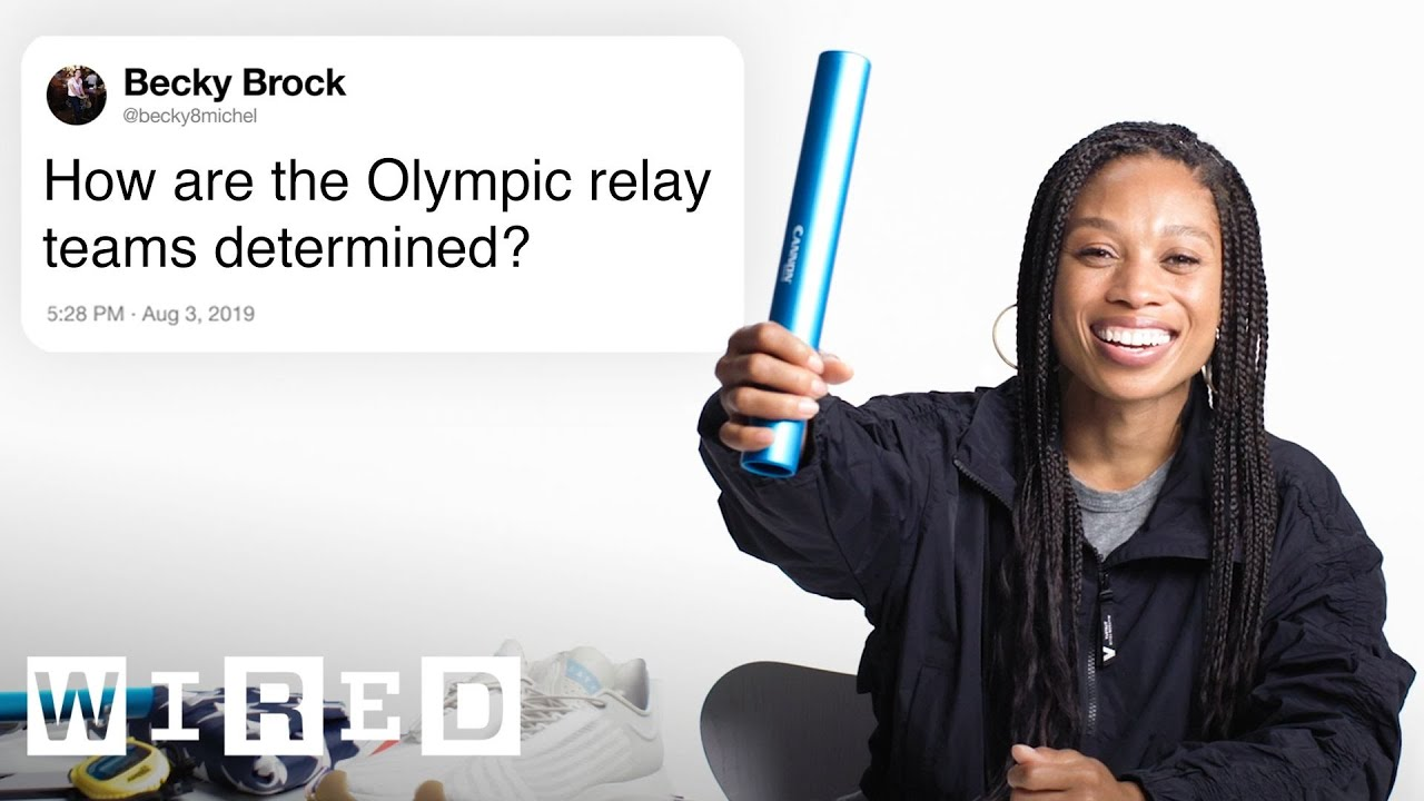 Olympic Runner Allyson Felix Answers Track Questions From Twitter   Tech Support   WIRED