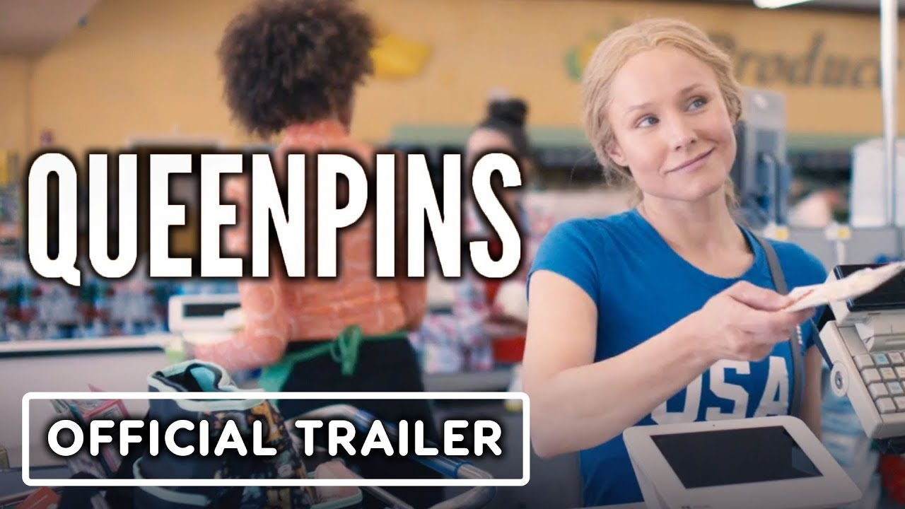 Queenpins - Official Trailer (2021) Kristen Bell, Vince Vaughn, Kirby Howell-Baptiste
