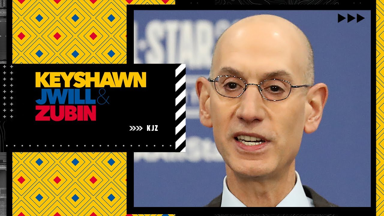 Reaction to Adam Silver's comments about the NBA's rash of injuries in the playoffs | KJZ