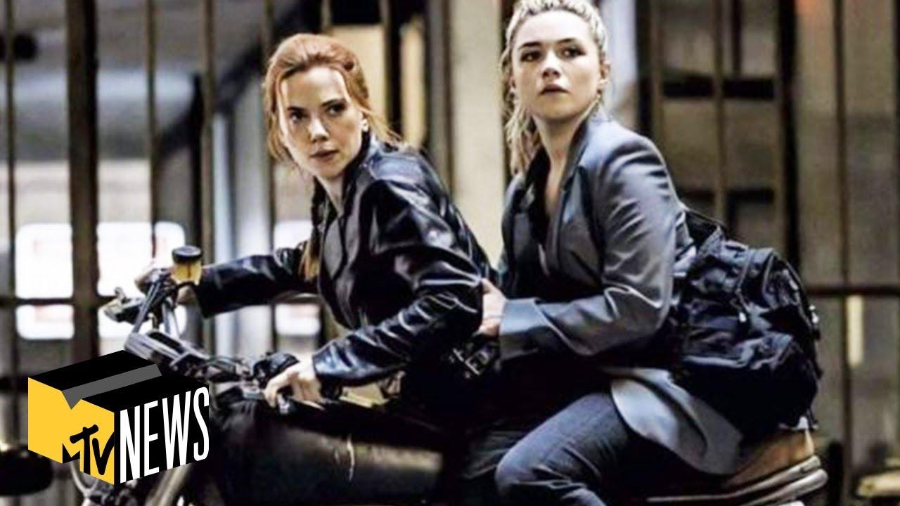 "Scarlett Johansson & Florence Pugh on ""Black Widow"" & Future of the MCU   MTV News"