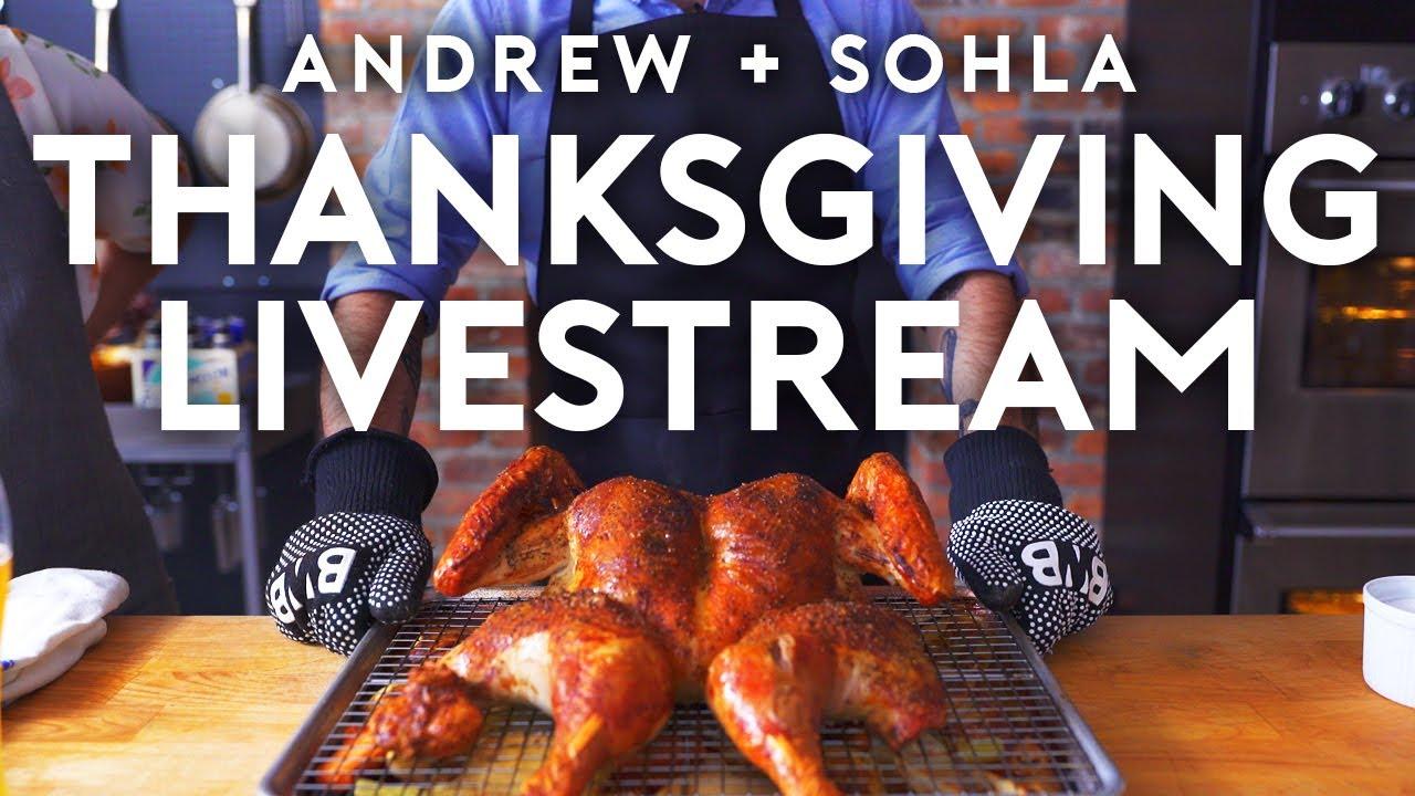 Thanksgiving Recipe Livestream with Sohla El-Waylly