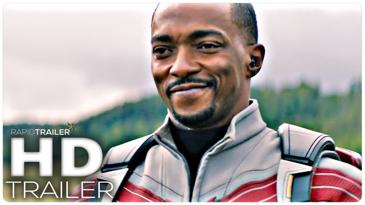 THE FALCON AND THE WINTER SOLIDER Official Trailer (2021) Marvel, Superhero Series HD